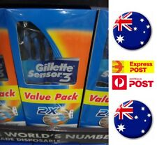 Gillette Sensor 3 Disposable Razors 24 Pack Original Quality FREE SHIPPING!!!
