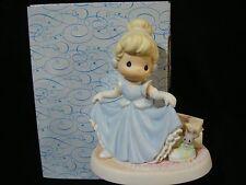ya Precious Moments-Disney Showcase-Cinderella/Mouse/Shoe-A Dream Is A Wish
