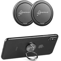 Set 2x Anello Smartphone Cellulare, Adesivo, Supporto per Dita| Comodo e Pratico