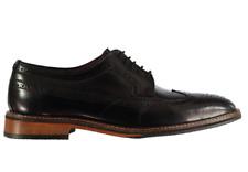 Firetrap Blackseal Hampshire Brogue Schuhe Herren Schwarz Größe UK 9 EU 43 * refcrs 137