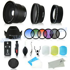 Fisheye Lens Graduated Filters Kit for 58mm Canon EOS 700D 650D 600D 550D 100D