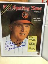Baltimore Orioles Boog Powell Signed Auto 16x20 MLB JSA Witness