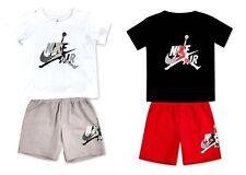 NIKE JORDAN MJSS BABY INFANT TODDLER T-SHIRT & SHORTS SET 9-24MONTHS 856941-G4R