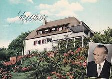 Konrad ADENAUER (+1967)  BUNDESKANZKANZLER Autogramm AK +handsigniert+ +TOP+