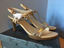 Pilar Abril Stiletto Size 7.5 (39) Leather Made/Brazil Women NIB Party Shoes!