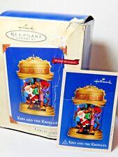 Hallmark Keepsake Ornament Kris & The Kringles Windup Movement 2002
