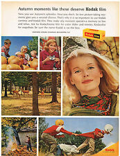 Vintage 1960 Magazine Ad Kodak Film Make Moment Special & Picture Of Twin Cities