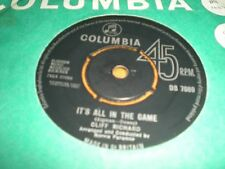 CLIFF RICHARD - IT'S ALL IN THE GAME / YOUR EYES TELL ON YOU