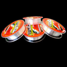 New Fishing Line Strong Japanese 100m Nylon Transparent Fluorocarbon Tackle Line
