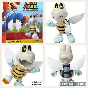 "Super Mario Toy 4"" Figure Parabones with Wings Jakks Pacific - FAST FREE P&P"