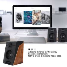 Portable Usb 2.0 Wired Mini Subwoofer Speakers 3.5mm Jack For Desktop Laptop Pc