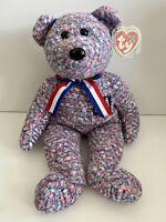TY Beanie Baby Buddy USA Bear *MWNMT*