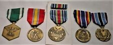 5 US Navy Large Medals