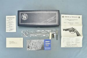 Vintage SMITH & WESSON .357 COMBAT MAGNUM MODEL 19 FACTORY BOX ONLY + #01429