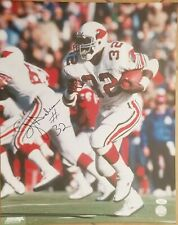 OJ Anderson signed 16x20 photo Cardinals Giants JSA COA