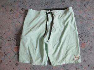 Men's HURLEY phantom sea foam board shorts Sz/ 34