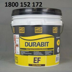 WATERPROOFING DURABIT EF EXTRA FLEXIBLE MEMBRANE 15L NEW GREY