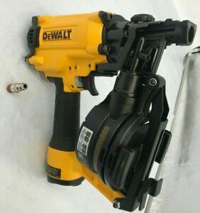 Dewalt DW45RN Pneumatic 15 Degree Coil Roofing Nailer Nail Gun, N
