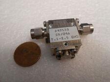 HARRIS FARINON FERRITS ISOLATOR A43533, 7.1-8.5 GHz