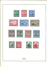 Spitzen Deutsches Reich Sammlung 1933-1945 ** komplett - Mi. 22.500,-