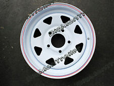 "New 14"" Sunraysia Rim Ford Wheel Pattern White Truck Caravan Trailer RFW14/6"