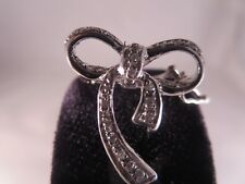 Bow Gold clip 27 Diamonds,high quality jewelry
