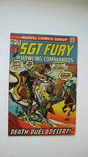 Sgt. Fury/Howling Commandos #107 (MCG 2/73) VF- Death Dues in the Desert Nice!!!