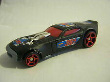 Hot Wheels Black McDonald's Happy Meal Car 381, dated 2009, Good Cond (EB18-10)