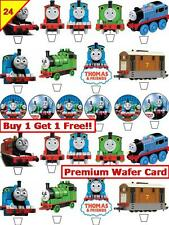48 Thomas The Tank Engine Cup Cake Card Wafer/Rice Toppers Edible STAND UP