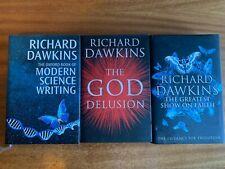 3 Richard Dawkins Hardback Books