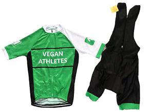 Vegan Athletes Cycling Kit strava club cycling set