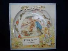 Wedgewood Peter Rabbit Christmas Plate 1998