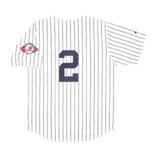 NWT NEW YORK YANKEES JOHNNY DAMON BABY TODDLER BOYS GIRLS PINSTRIPE JERSEY 18 MO
