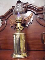 Antique French Wine Cellar Oil Lamp