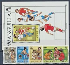 Anguilla 446/49 Block 39 postfrisch / Kinder (6844) ............................