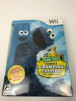New Sesame Street: Cookie's Counting Carnival for Nintendo Wii w/ Remote Cover