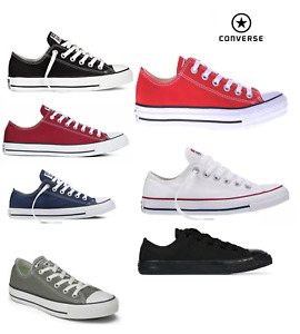 ⚫⚫ 2021 CONVERSE CHUCK TAYLOR ALL STAR LOW CANVAS UNISEX TRAINERS