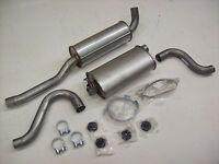 Auspuff Auspuffanlage Abgasanlage 4tlg. Volvo 940 TDic 2,4L Intercooler