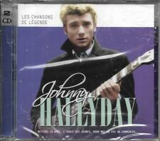 DOUBLE CD 30T JOHNNY HALLYDAY CHANSONS DE LÉGENDE BEST OF 2017 NEUF SCELLE