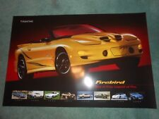 Pontiac Trans Am Firebird POSTER Bird of Prey 67, 69, 71, 77, 79, 82, 94, 2002