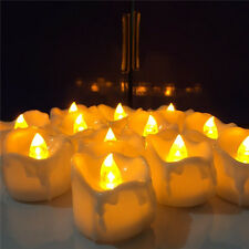 Decoration Gift LED Electric Candles Yellow Flicker Battery Candles Tea Lights