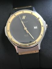 HUBLOT MDM 1521.2 18k And Steel 36mm New Straps With Box! CROWN NEEDS WORK!!!!