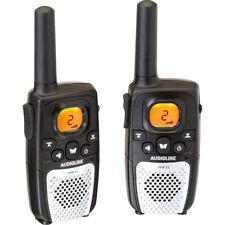 Audioline PMR 23 Funk-Geräte-Set 8 Kanal Gürtelclip Rufton senden empfangen Kind
