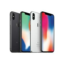 Apple iPhone X - 64GB - Silver  Gray (Unlocked) 4G LTE B