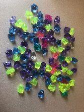 93 Multi Color Plastic Gems For Party Favor Summer Scavenger Hunts Crafts