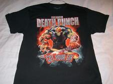 Five Finger Death Punch Got Your Six 2015 Bravado Metal Black T-Shirt Men's XL