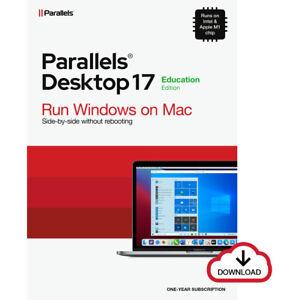 Parallels Desktop 17 Standard für MAC *1-Jahr* EDU Academic / Schulversion / KEY