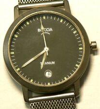 Boccia Wrist Watch Titanium Non Functional with Box #6646