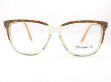 occhiale da vista Christopher D. vintage donna mod.1960 N col.traspar/gial/verde