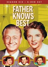 FATHER KNOWS BEST TV SERIES COMPLETE SEASON SIX 6 New Sealed 5 DVD Set